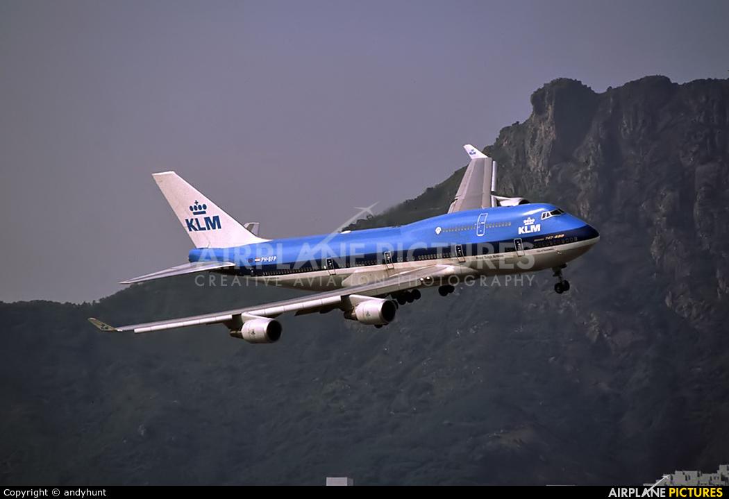 KLM Asia PH-BFP aircraft at HKG - Kai Tak Intl CLOSED
