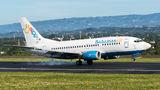 Bahamasair Boeing 737-500 visits San Jose