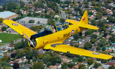 C-FVIJ - Canadian Historical Aircraft Association Canadian Car & Foundry Harvard