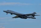 USA - Air Force Rockwell B-1B Lancer 85-0087 at Ostrava Mošnov airport