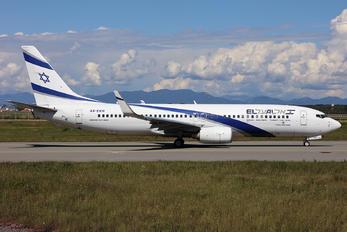 4X-EKH - El Al Israel Airlines Boeing 737-800