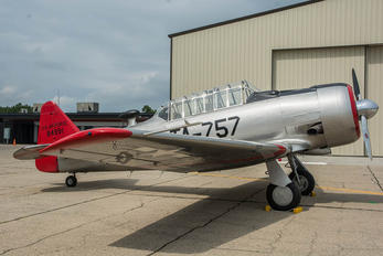 N757LF - Private North American Harvard/Texan (AT-6, 16, SNJ series)