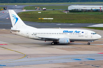 YR-AMD - Blue Air Boeing 737-500