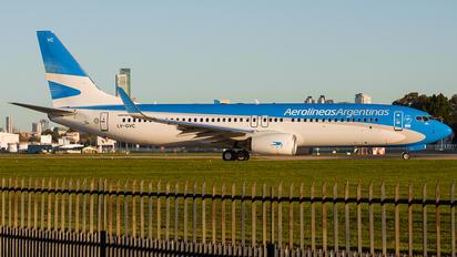 LV-GVC - Aerolineas Argentinas Boeing 737-800