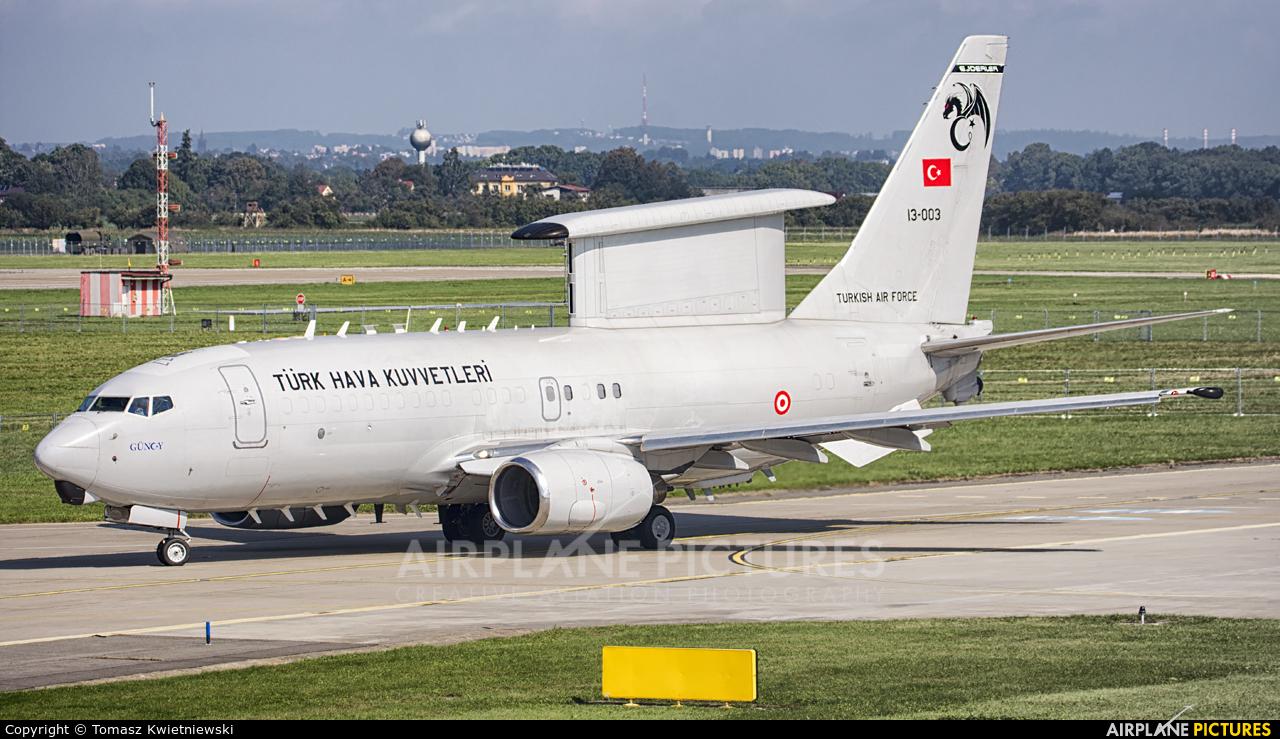 Turkey - Air Force 13-003 aircraft at Ostrava Mošnov