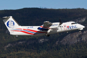 LN-FVB - FlyViking de Havilland Canada DHC-8-100 Dash 8