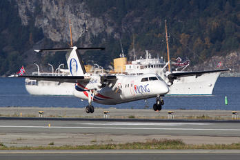 LN-FVB - FlyViking de Havilland Canada DHC-8-100 Dash 8