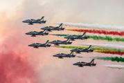 "MM54477 - Italy - Air Force ""Frecce Tricolori"" Aermacchi MB-339-A/PAN aircraft"