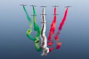 "- - Italy - Air Force ""Frecce Tricolori"" Aermacchi MB-339NAT aircraft"