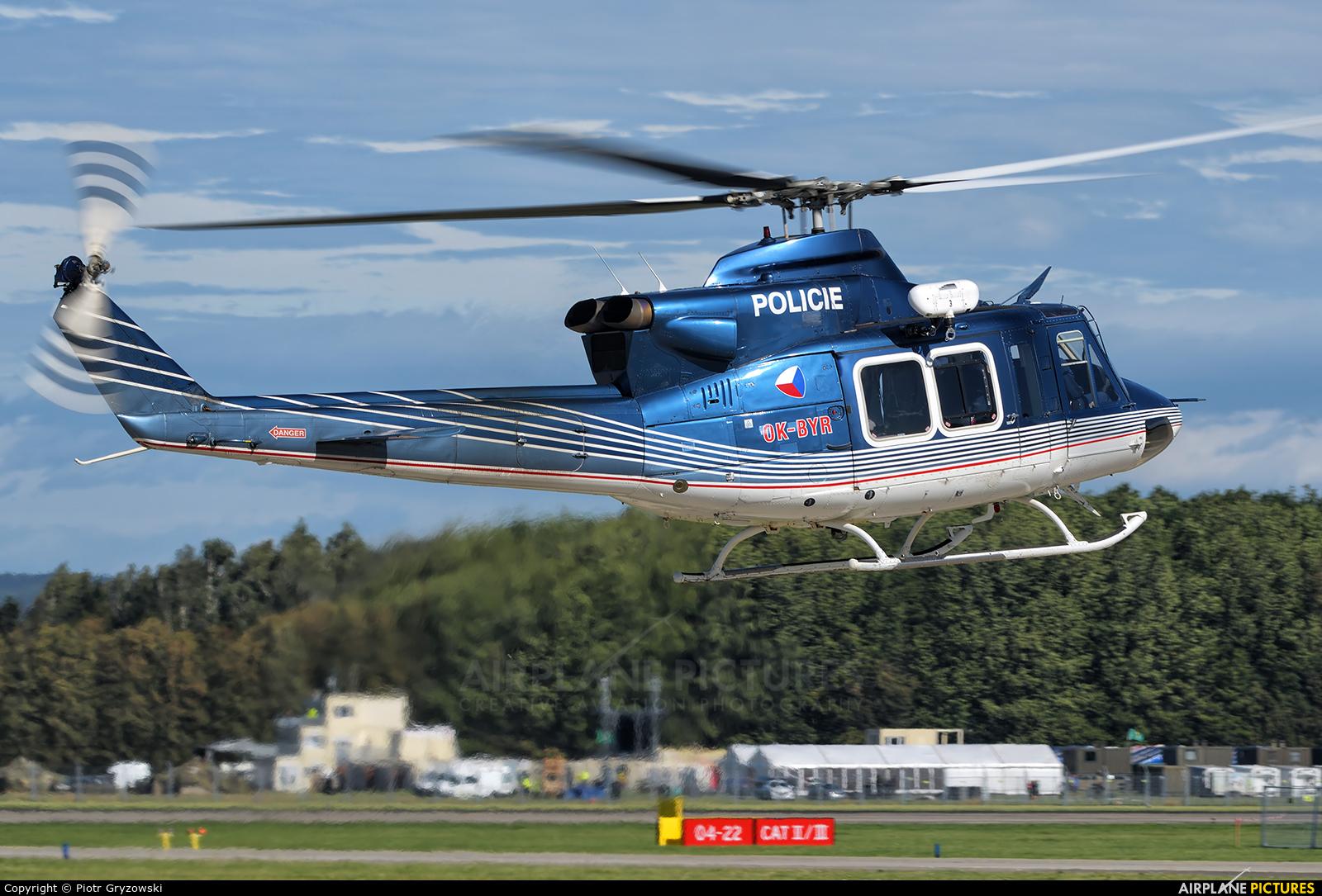 Czech Republic - Police OK-BYR aircraft at Ostrava Mošnov