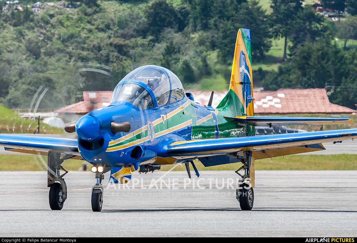 "Brazil - Air Force ""Esquadrilha da Fumaça"" FAB5717 aircraft at Medellin - Jose Maria Cordova Intl"