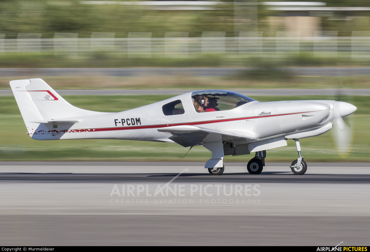 Private F-PCDM aircraft at Cannes - Mandelieu