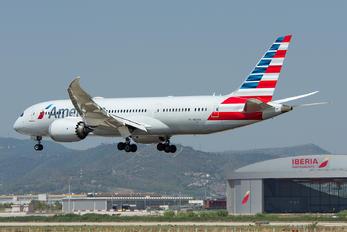 N813AN - American Airlines Boeing 787-8 Dreamliner