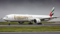 A6-ECW - Emirates Airlines Boeing 777-300ER aircraft