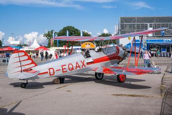 D-EQAX - Private Focke-Wulf Fw.44J Stieglitz