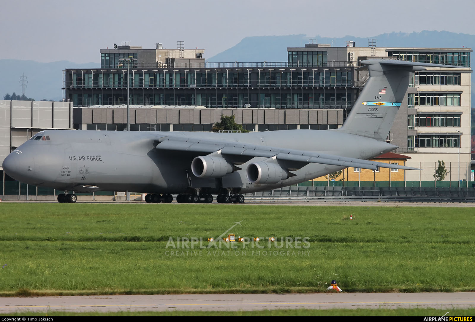 USA - Air Force 87-0036 aircraft at Stuttgart