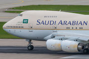 HZ-HM1C - Saudi Arabia - Royal Flight Boeing 747SP aircraft