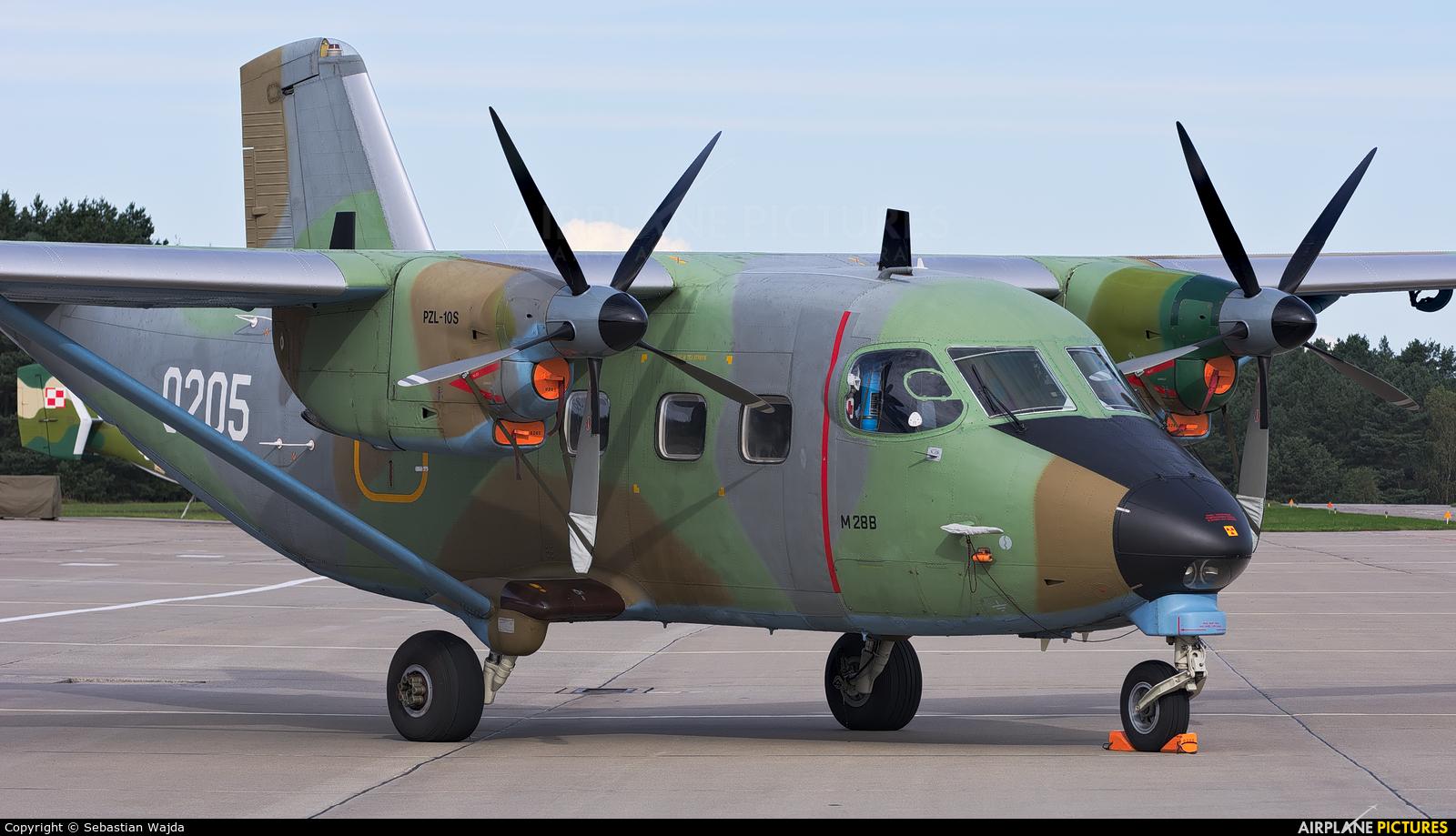 Poland - Air Force 0205 aircraft at Mirosławiec