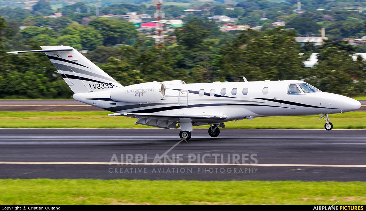 Private YV3333 aircraft at San Jose - Juan Santamaría Intl