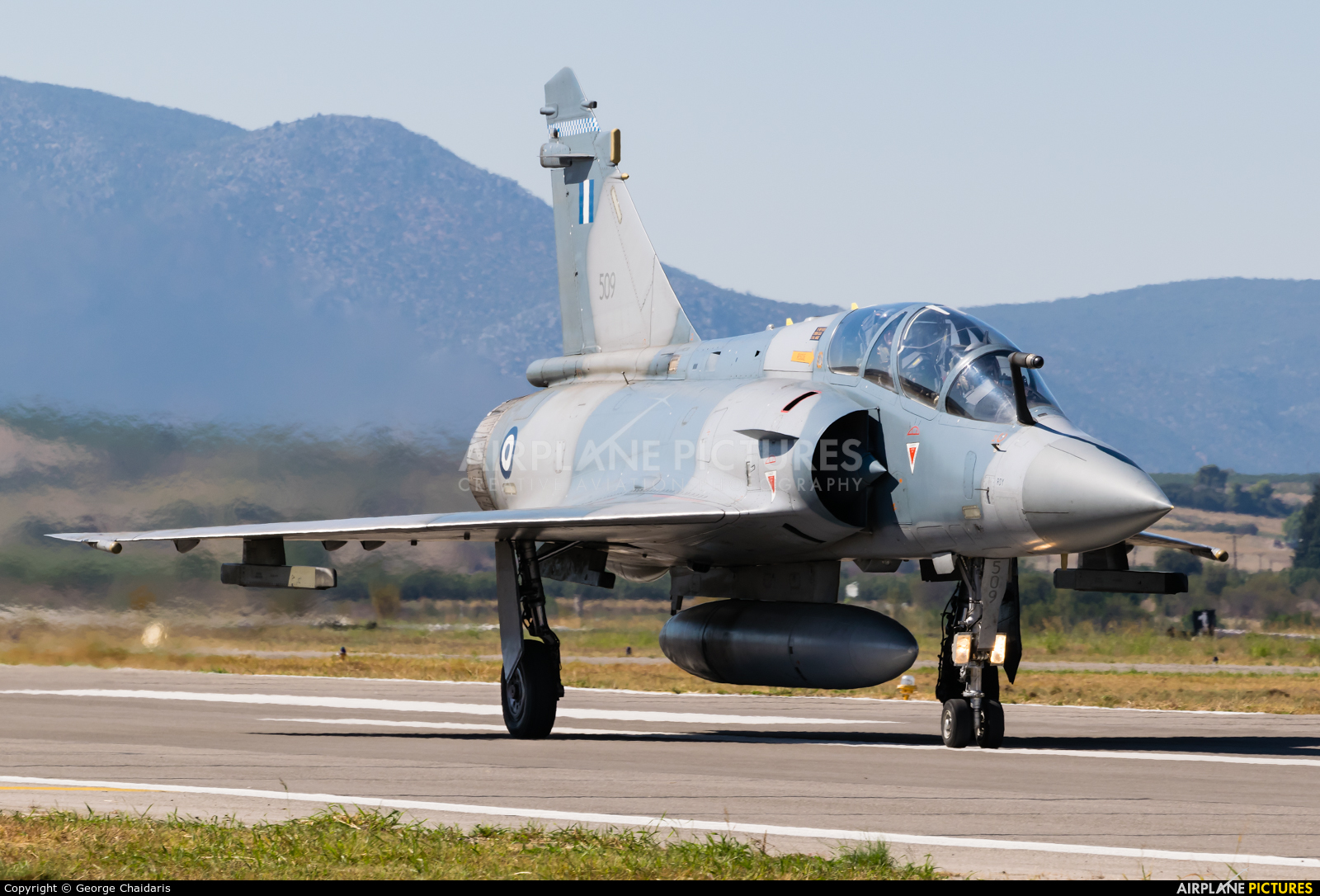 Greece - Hellenic Air Force 509 aircraft at Tanagra