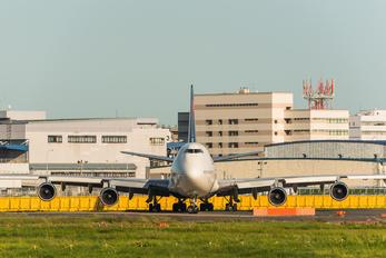 N666US - Delta Air Lines Boeing 747-400