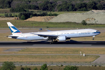B-KQR - Cathay Pacific Boeing 777-300ER