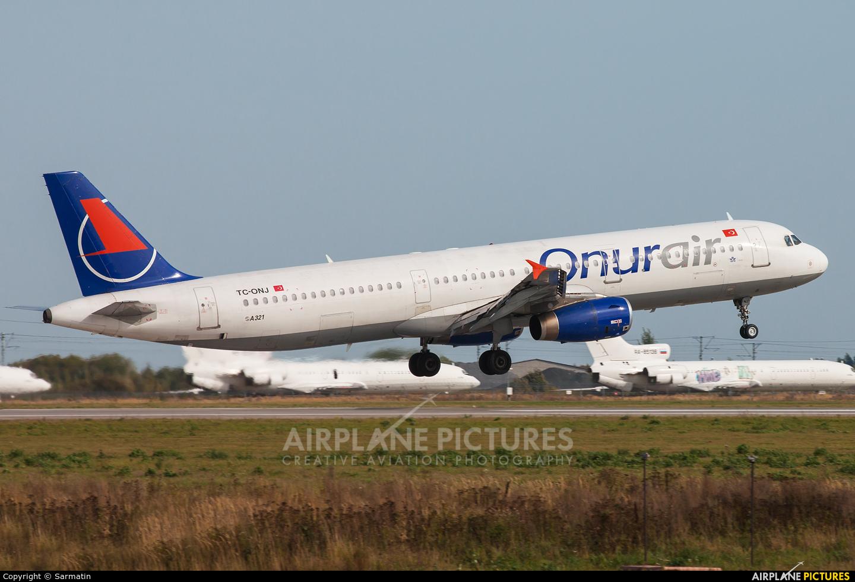 Onur Air TC-ONJ aircraft at Kazan