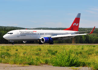 VP-BYW - Nordwind Airlines Boeing 737-800