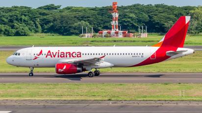 N494TA - TACA Airbus A320