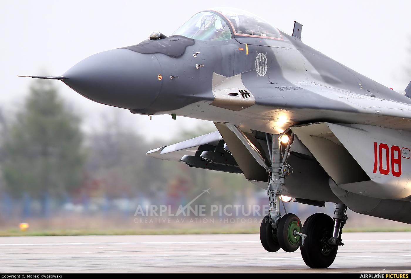 Poland - Air Force 108 aircraft at Mińsk Mazowiecki