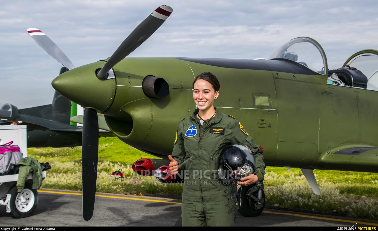 Mexico - Air Force 2528 aircraft at Santa Lucia AB