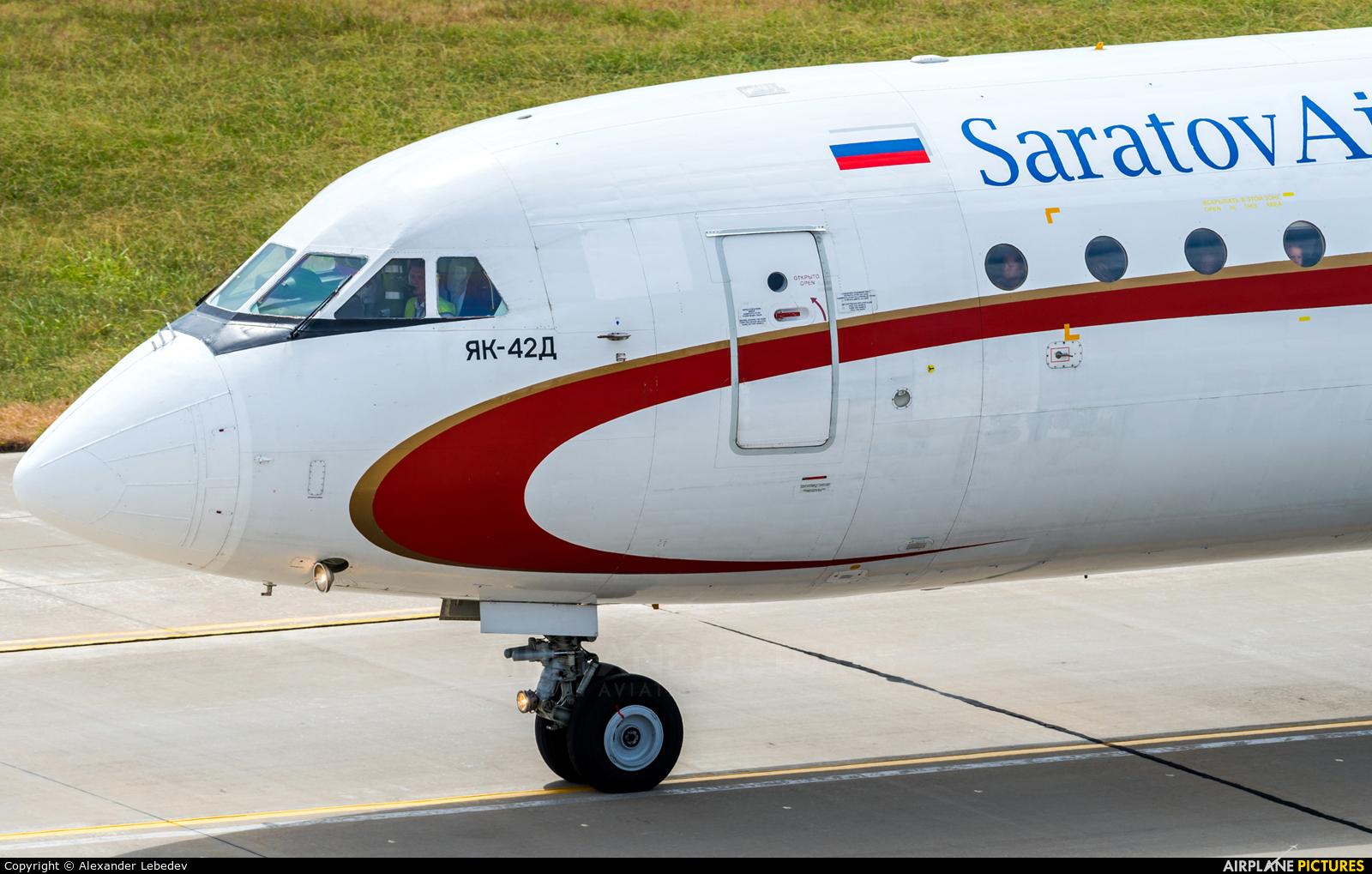 Saratov Airlines RA-42326 aircraft at Sochi Intl