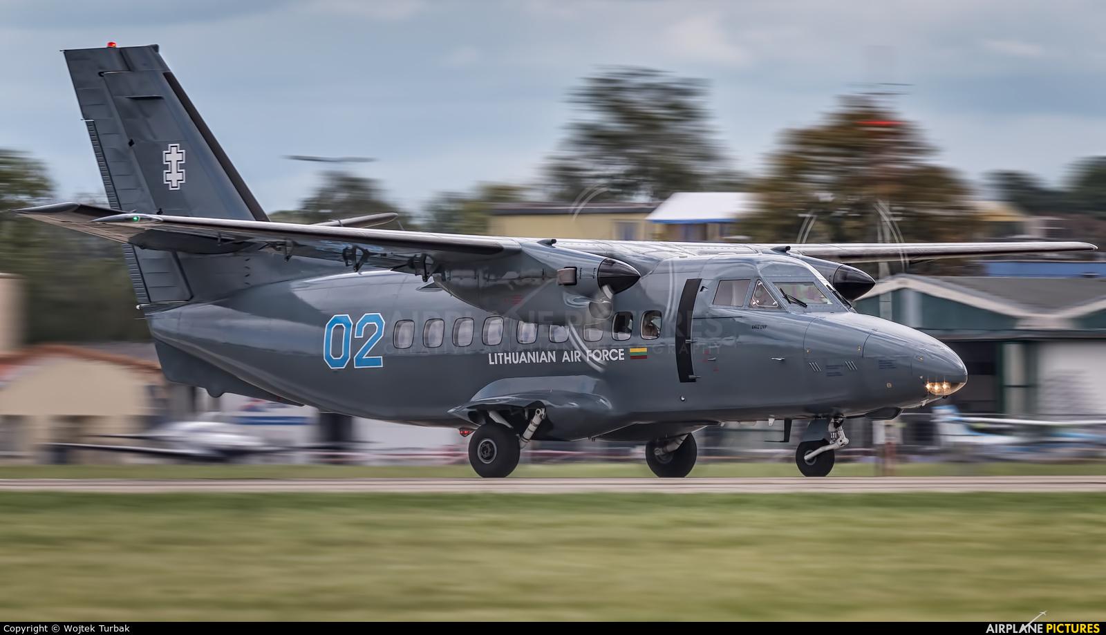 Lithuania - Air Force 02 aircraft at Ostrava Mošnov