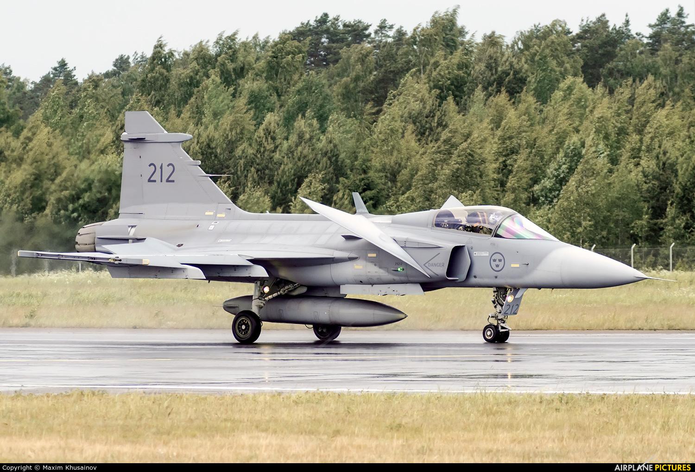 Sweden - Air Force 212 aircraft at Lappeenranta