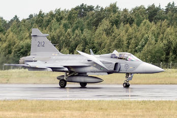 212 - Sweden - Air Force SAAB JAS 39C Gripen