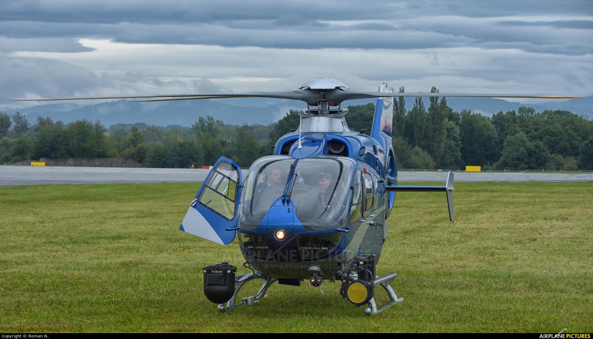 Czech Republic - Police OK-BYG aircraft at Ostrava Mošnov