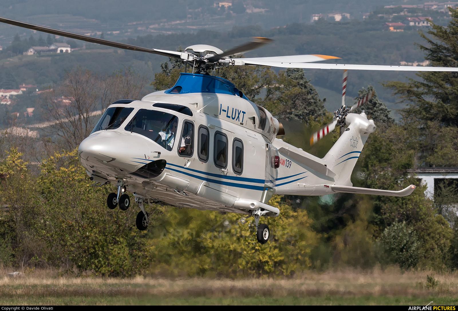 Private I-LUXT aircraft at Verona - Boscomantico