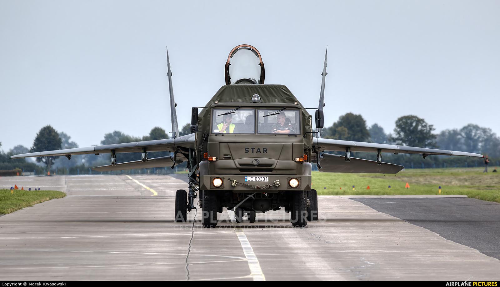 Poland - Air Force 70 aircraft at Malbork