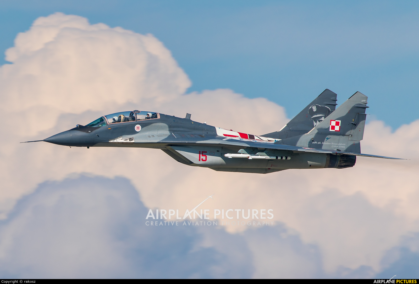 Poland - Air Force 15 aircraft at Ostrava Mošnov