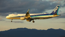 JA112A - ANA - All Nippon Airways Airbus A321 aircraft