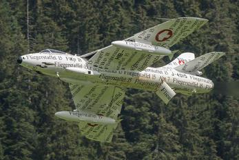HB-RVS - Switzerland - Air Force Hawker Hunter F.58