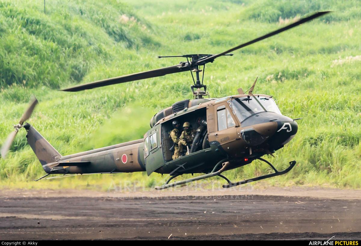 Japan - Ground Self Defense Force 41899 aircraft at Off Airport - Japan