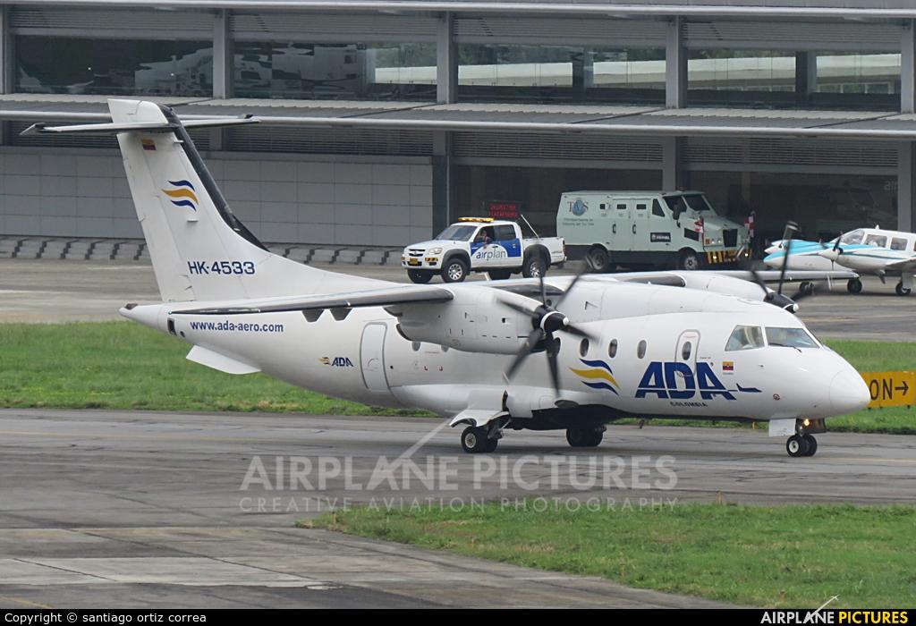 ADA Aerolinea de Antioquia HK-4533 aircraft at Medellin - Olaya Herrera