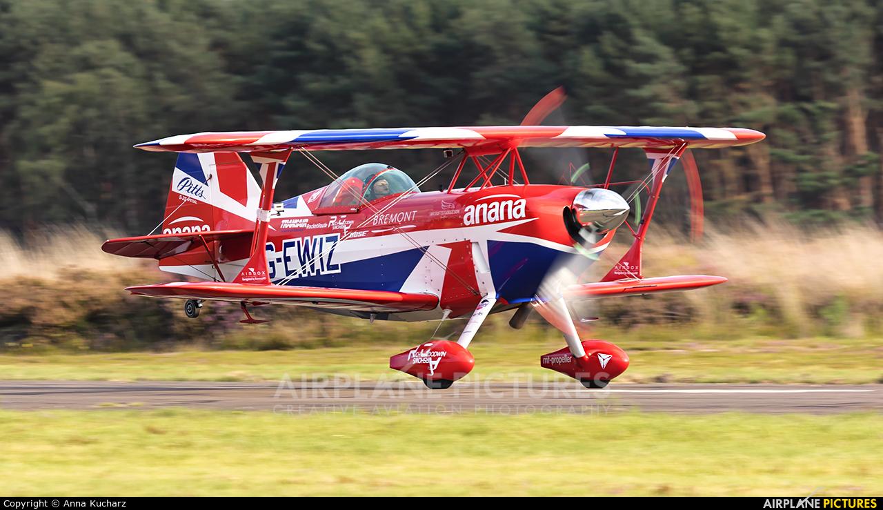 Rich Goodwin Airshows G-EWIZ aircraft at Leopoldsburg - Beverlo