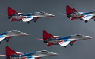"31 - Russia - Air Force ""Strizhi"" Mikoyan-Gurevich MiG-29A aircraft"