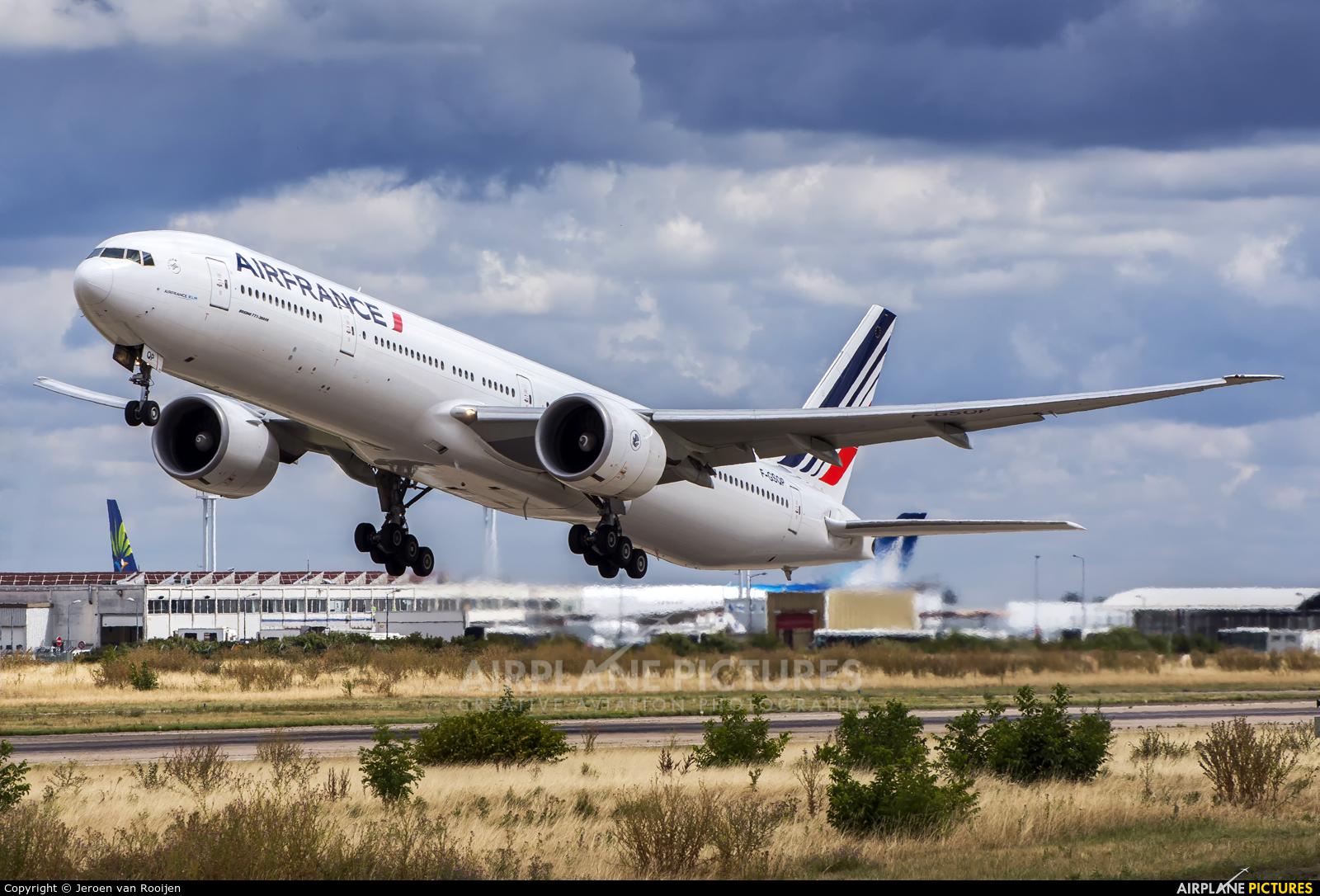 Air France F-GSQP aircraft at Paris - Orly