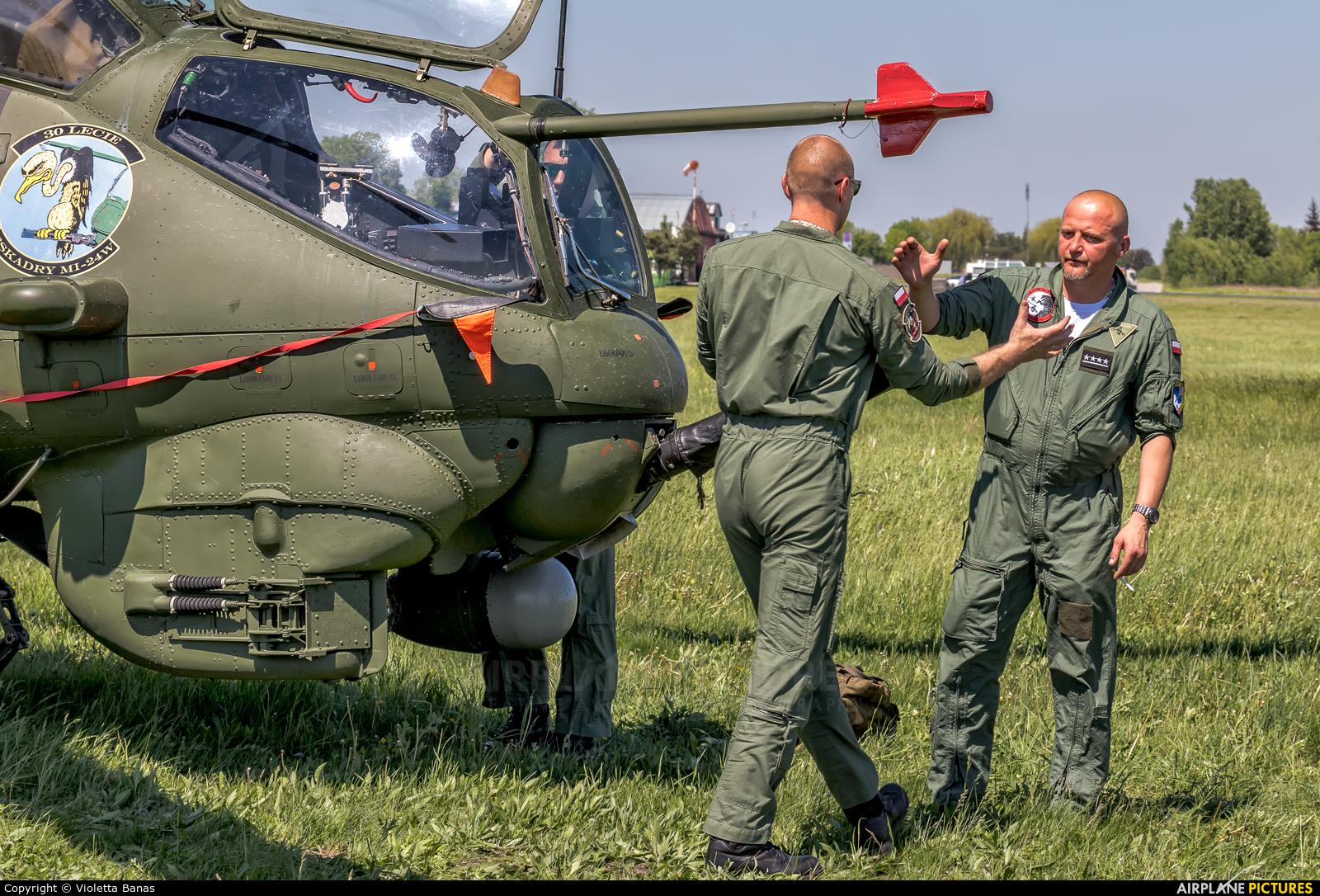 Poland - Army 729 aircraft at Inowrocław - Latkowo