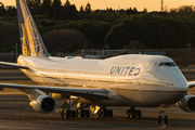 N178UA - United Airlines Boeing 747-400 aircraft