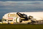 A6-EFJ - Emirates Sky Cargo Boeing 777F aircraft