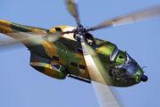 77 - Romania - Air Force IAR Industria Aeronautică Română IAR 330 Puma aircraft